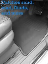 To suit Nissan GU Patrol 3D Floor Mats front & rear Rubber Vinyl