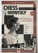 """The Queen's Gambit Wall Art TV Poster 18x12 - 30x20"""""""
