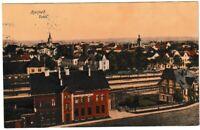 Ansichtskarte Herford Westfalen - Totalansicht -Königliche Güterabfertigung 1914