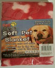 Red Pet Touch Manta Polar Suave Para Mascotas Perros & Cachorro Manta Mantas De Gato