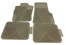 04-10 Ford Ranger All Weather Tan Medium Pebble Vinyl Rubber Floor Mat Kit OEM