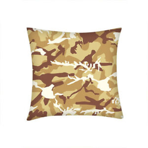Camouflage Camo Cushion Cover Home Car Sofa Decor Throw Pillowcase Personalized