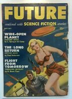 FUTURE PULP Golden Age GGA  Sci Fi SEPT/OCT 1950 cover by Leo Morey