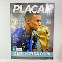 PLACAR Brazil Soccer Magazine Mbappé World Cup Edition | Jul/18