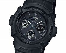 Casio G-Shock AW-591BB-1ADF Matt Black Sporty Watch AW-591