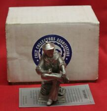 COLT Firearms Factory CCA Sam Colt Boy Genius Pewter Statue 1999