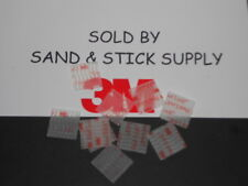 "3M 3MSJ3560 CLEAR DUAL LOCK VHB  TYPE 250  ( 10 ) 1"" X 1"" SQUARES RECLOSABLE"