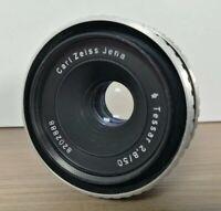 Vintage Carl Zeiss Jena Tessar 2,8/50 Camera Lens No 8202888