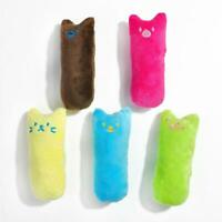 Interactive Fancy Catnip Cat Pillow Funny Toy Teeth Grinding Claws Pets Toy DI