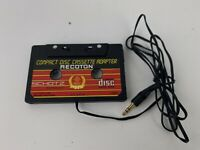 Vintage Recoton Compact Disc Cassette Adaptor CD20 Schotz Tecnology