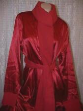 La Perla Seta Vestaglie Collection S Short Silk Robe Red New $753