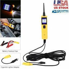 12V/24V Power Probe Car Circuit Battery Tester Electrical System Test Diagnostic