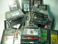 ELVIS PRESLEY DEAGOSTINI THE OFFICIAL COLLECTORS EDITION DVDs - SELECT TITLE