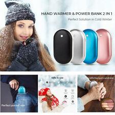 4-in-1 Akku Handwärmer & Powerbank,5200 mAh, USB, wiederaufladbar, Taschenwärmer