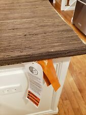 """LEVOLOR Woven Bamboo Cordless Natural Shade Brown 26""""W x 68""""L lined"""
