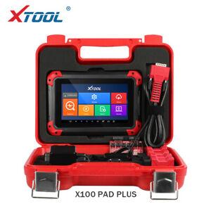 XTOOL X100 PAD Plus All System Code Scanner Diagnostic Tool Key Programming OBD2
