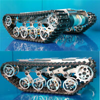 Metal Independent Suspension System Robot Tank chassis For DIY Arduino Hobbyist
