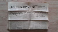 Journal Nationalist L Action Figure French 29 Mars 1934 N° 88 ABE