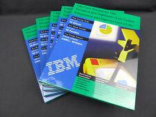 5 Pack of 50 sheets IBM Color Laser Printer Transparency Film 8.5x11 Sealed