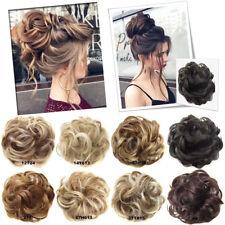 Beauty Pony Tail Women Messy Hair Bun Hairpiece Extension Scrunchie Fake Hair FA