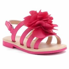 162K NEW Girls Toddlers JUMPING BEANS CANDILAND PINK SANDALS