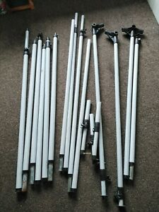 Dorema Fibreglass Caravan Awning Set of Poles Upto 925cm IXL Fibretech