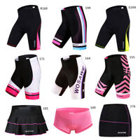 Womens Cycling Shorts Gel Padded MTB Bike Pants Ladies Short Skirt Underwear