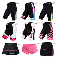 Womens Cycling Shorts Gel Padded MTB Bike Pants Ladies Short Skirt Underwear