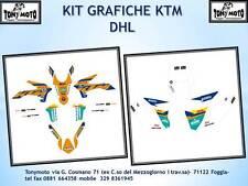 KIT GRAFICHE KTM ADESIVI KTM EXC F SX SX F 2013 AL 2016 DHL 15