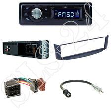 Caliber RMD021 Autoradio + Smart ForTwo A450 Radio Blende blau+ ISO Adapter Set