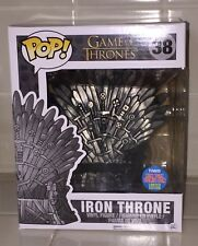 FUNKO POP NYCC 2015 GAME OF THRONES IRON THRONE #38 EXCLUSIVE COMIC CON SDCC #1