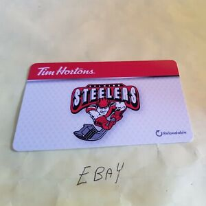 Tim Hortons collectors gift card 335 FD42333 2014 OHL Oshawa Generals