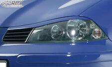 RDX Scheinwerferblenden SEAT Ibiza 6L Böser Blick Blenden Spoiler Tuning