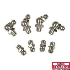 """TOLEDO Grease Nipple Stainless Steel - 1/8"""" – 27 Pipe Threads PTF – Special Shor"""