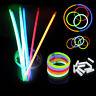 100/lot Glow Stick Bracelets Necklaces Neon Mix Colors Party Christmas Party*