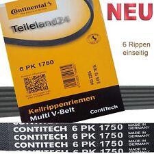 NEU Contitech Keilrippenriemen 6PK1750 Fahrgestellnummer und Motorcode beachten