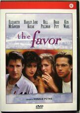 Dvd El Favor - En la cama con la'amigo con Brad Pitt 1994 Usado