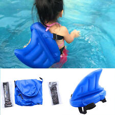 US Swim Shark Fin Swiming Aid For kids Children swimsuit lifeboat water artifact