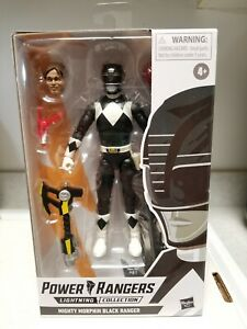 Power Rangers Lightning Collection Black Ranger Mighty Morphin Action Figure 🔥
