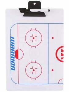 Warrior Hockey Coaching Board! Coach Coaches Clipboard Dry Erase 9x13 Ice Roller