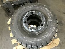 Carlisle Deep Traction Forklift Tire 8.25-15 / 8.25-15Nhs W/ 8 Lug Rim #T89
