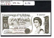 Saint Helena, One Pound WPM. 6a. Erhaltung 1