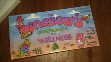 1999 The Dinosaur's Journey To Wellness Childs Work Play Board Game in Box