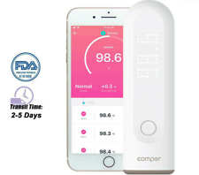 Comper Infrared Digital Forehead Thermometer Baby Adult Temperature with App