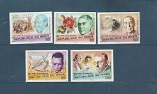 Niger  les prix Nobel     1977   num:  411/15   ND  **