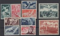 CO141641/ FRANCE – AIRMAIL / LOT 1946 - 1955 MINT MNH CV 130 $