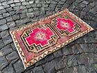 Turkish rug, Vintage rug, Handmade rug, Small rug, Doormats | 1,7 x 3,0 ft