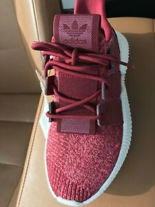 ADIDAS ORIGINALS PROPHERE W BURGUNDY RED WHITE MEN'S SIZE 7 SNEAKERS B37635