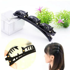 1 pcs Fashion Hair Styling Twist Clip Barrette Braid Tool Magic Hair Accessories