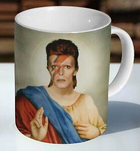 David Bowie Ziggy Stardust Holy Ceramic Coffee Mug - Cup